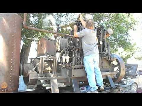 Atlas 3 Cylinder Diesel 1927 Tug Boat Engine