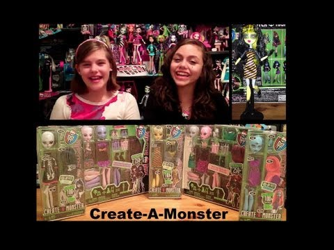 Monster High Create-A-Monster Review by Wookiewarrior23