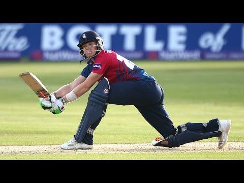 Sam Billings smashes 135 not out from 58 balls - Somerset v Kent
