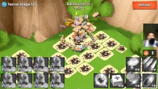 Boom Beach Volcano Event Dr terror - Crystals Oh Crystals Let's MAX that Fleet