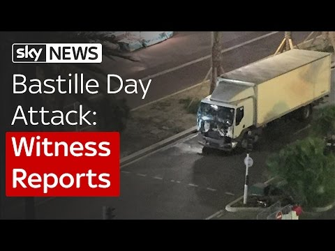 Bastille Day Attack: Witness Reports