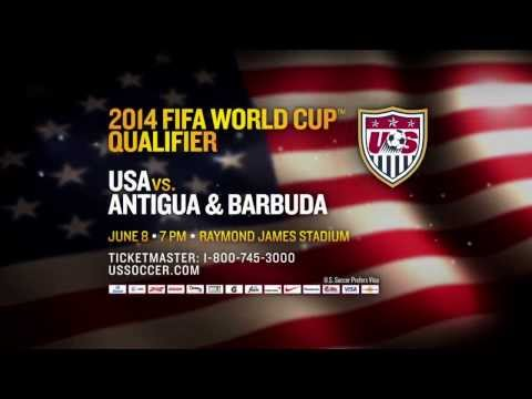 U.S. MNT vs. Antigua &amp; Barbuda Trailer: Tickets on sale now!