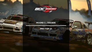 British Drift Championships - Round 1 Teeside - Pro Top 24 Battles