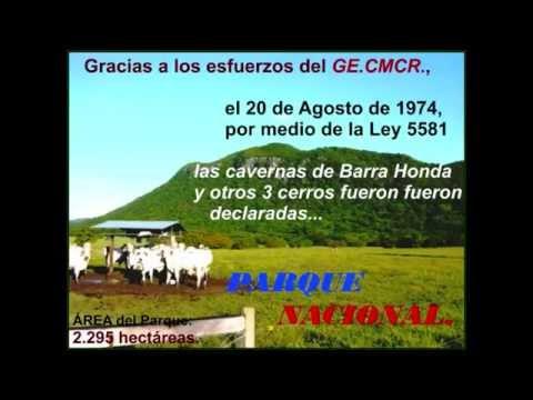 Desarrollo histórico descubrimientos en Barra Honda. Costa Rica (II)
