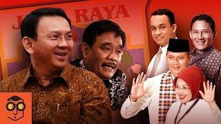 Profiles Jakarta Election Contenders