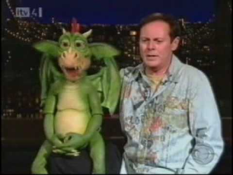 Ventriloquist Ronn Lucas on David Letterman Show