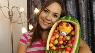 Decoraciones con Frutas para Baby Shower / Baby Shower Fruit Decoration