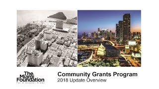 2018 Community Grants Learning Session