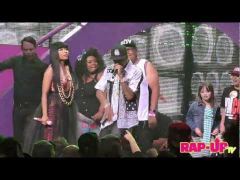 Nicki Minaj and Tyga Perform 'BedRock' at L.A. Show