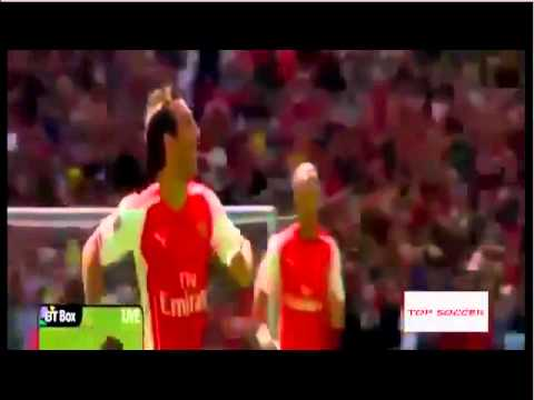 Arsenal vs Manchester City 3 0 I All Goals and Highlights I FA Community Shield
