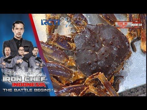 IRON CHEF - Penggunaan telur kepiting yang unik dari Chef Jacob [16 Juli 2017]