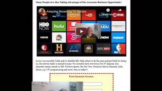 IXQtv - New Generic Capture Page with Free System | Make Money