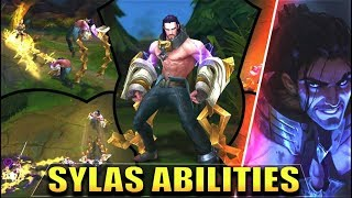 SYLAS ABILITIES GAMEPLAY SPOTLIGHT - League of Legends