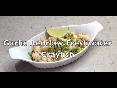 Garlic Redclaw Fresh Water Crayfish Video Recipe
