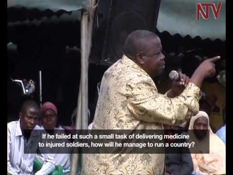 Otafiire calls Mbabazi a weak leader