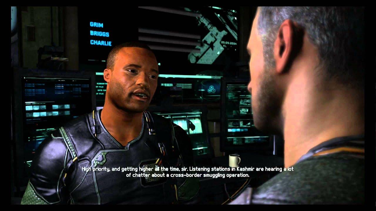 splinter cell blacklist how to start a new game