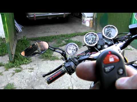 Установить музыку на мотоцикл