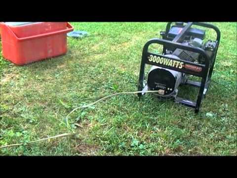 Generac Enduro 3000 watt generator Tecumseh 6hp
