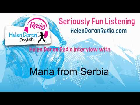Interview with Maria, Helen Doron English Student from Serbia