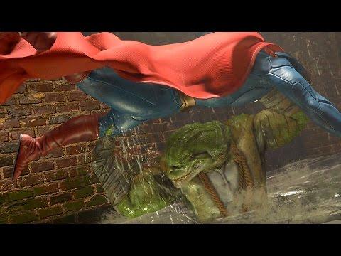 Injustice 2 - Todas las transiciones de escenario / Stage transitions (1080p 60fps)