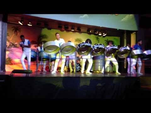 Silver Bird Steel Drum Orchestra 8 5 13 Riu Mo Bay Jamaica