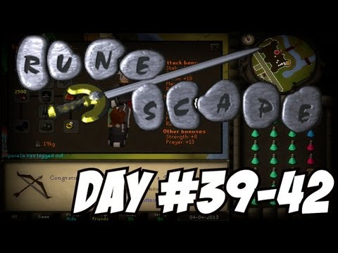 Old Runescape Project Ranged Tank – 80 Range + Full Void! (Day #39-41)