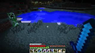 Český Let's Play Minecraft na HardCore E15: Noc plná příšer a jiných potvoráků