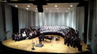 Go Down Moses - GMEA All-State 2012 Middle School Mixed Chorus