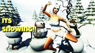 Its snowing!!! | SECOND LIFE