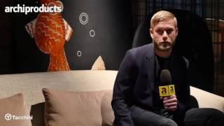 Salone del Mobile.Milano 2017   TACCHINI - Jonas Wagell racconta il divano Roma