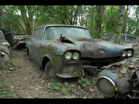 Slideshow Part2 Kaufdorf car graveyard September 2008