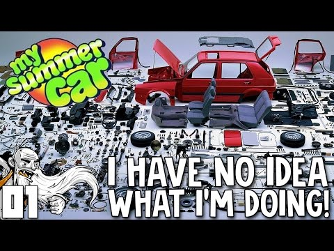 "My Summer Car Gameplay Part 1 - ""GET SO REKT...LITERALLY!!!""  - Let's Play Walkthrough"