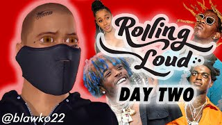 2018 ROLLING LOUD Lineup Review by a Robot (Day 2) | Blawko22