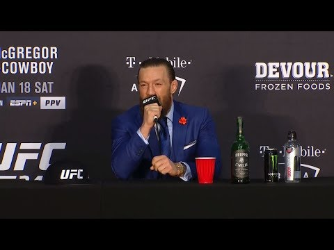UFC 246: Post-fight Press Conference