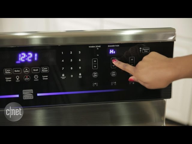 Does an oven need burner knobs? Kenmore doesn't think so.