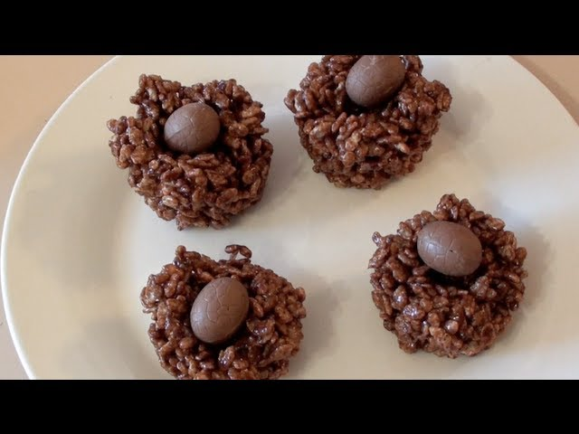 CHOCOLATE EGG CRACKLES - VIDEO RECIPE