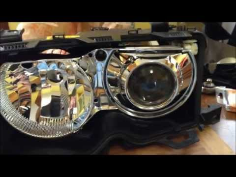 DIY: BMW E46 ZKW Clear Lens Swap / Headlight Disassembly