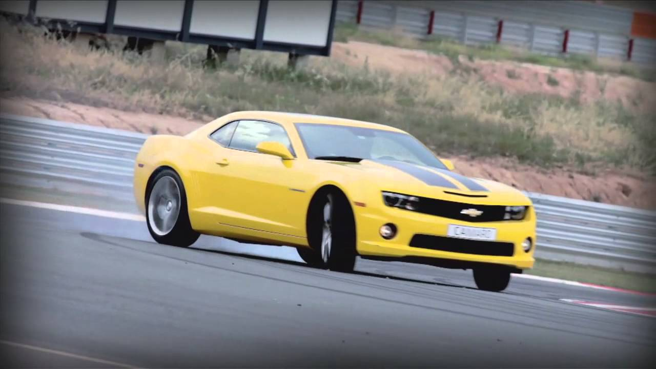 Chevrolet Camaro Drift Yvan Muller Youtube