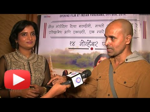 Elizabeth Ekadashi Marathi Movie Director Paresh Mokashi With Wife - Interview video