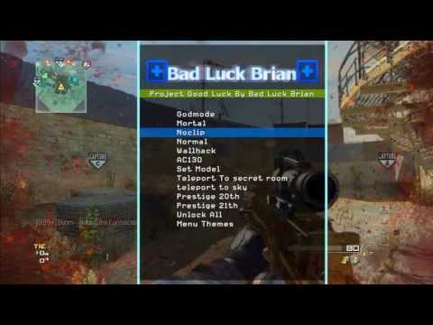 Modern Warfare 3 Project Good Luck Mod Menu / Menü | ADD TGG-_-xCry & TGG-_-LOaDeR {PS3}