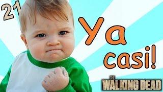 YA CASI LLEGA EL BEBy  The Walking Dead Temp. 2  Parte 21 - JuegaGerman