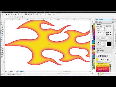 CorelDRAW X6 for Beginners the Contour Tool