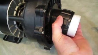 The Spa Guy How To Hot Tub Pump Union Emergency Repair Split Nuts