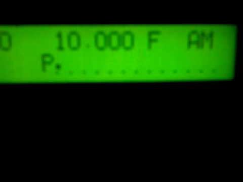 ITALCABLE TIME SIGNAL 10.000 Khz