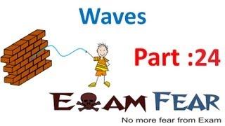 Physics Waves part 24 Doppler effect CBSE class 11