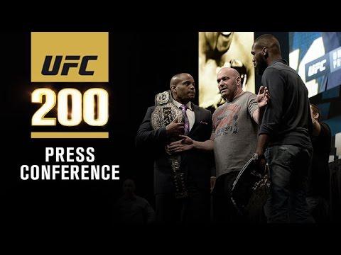 UFC 200: Pre-fight Press Conference