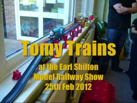 Tomy Trains at Earl Shilton Model Railway Show 2012