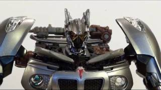 Video review of the Transformers: Hunt for the Decepticons; Human Alliance Jazz