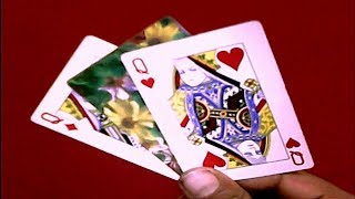 Between The Two Queens - Simple Card Magic Trick - Tutorial In Hindi