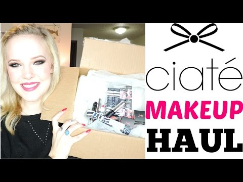 NEW! CIATE MAKEUP HAUL!